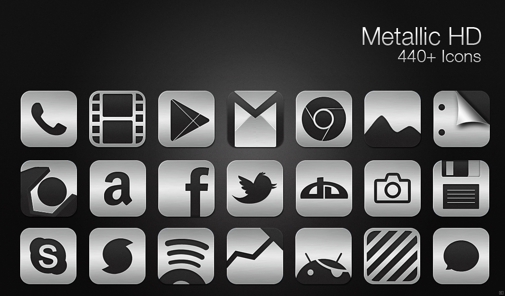 8 Metal Icon Pack Windows 7 Images
