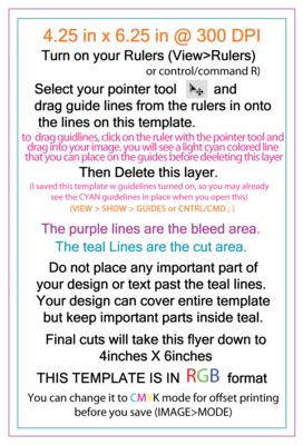 flyer 4x6 template - Pinep.handshakeapp.co