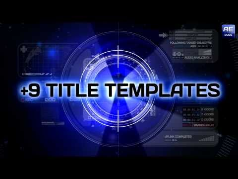 13 Adobe After Effects Templates Images - Adobe After Effects ...