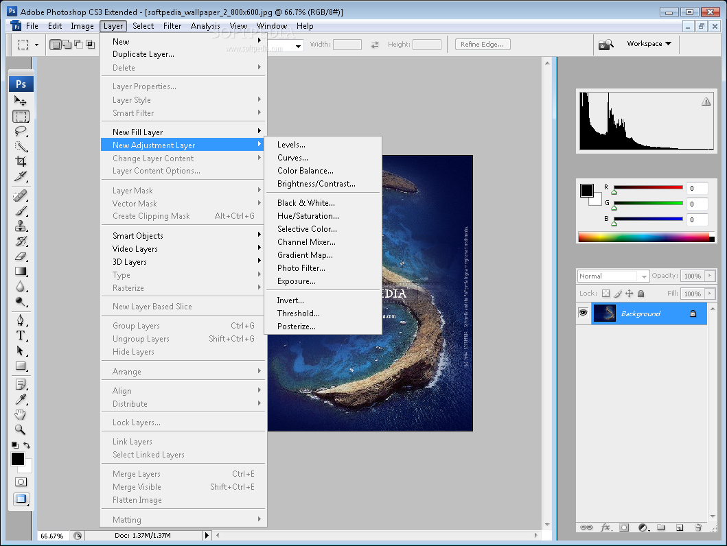 Adobe Photoshop CS3 Extended Free Download