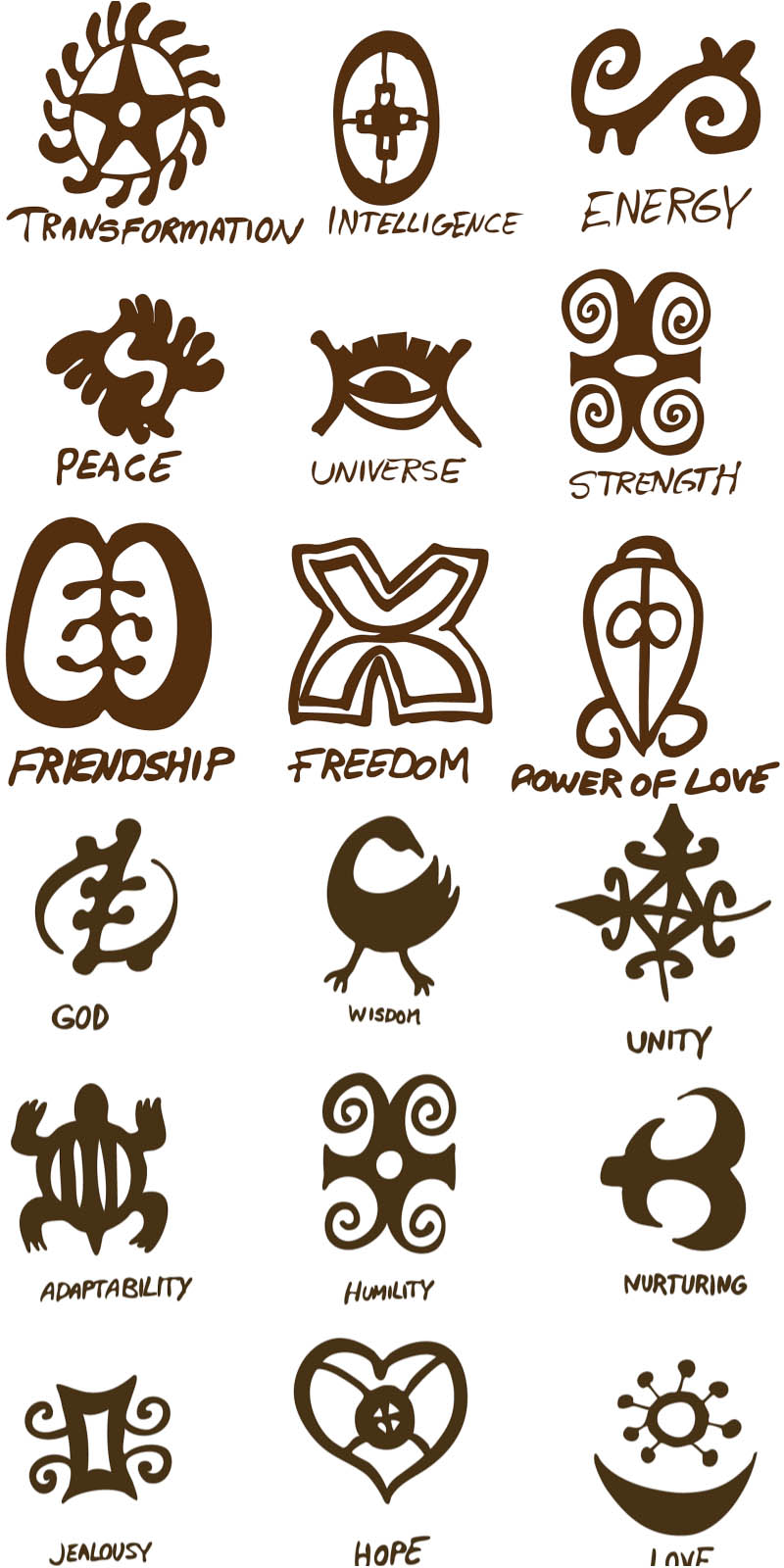 18 Ancient Symbols Vector Images