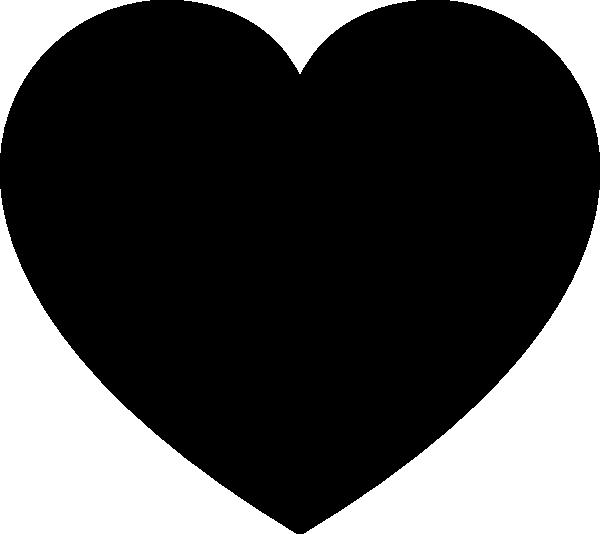 Black Heart Vector Art