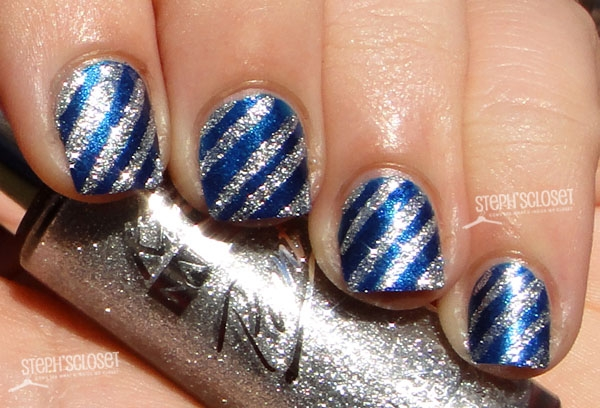 Navy Blue And Silver Nail Designs Image Collections Art