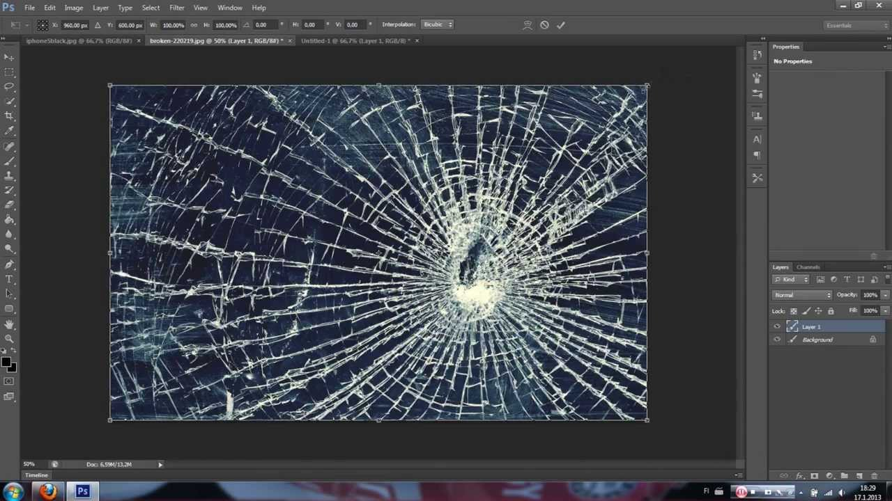 how to break apart an image in illustrator