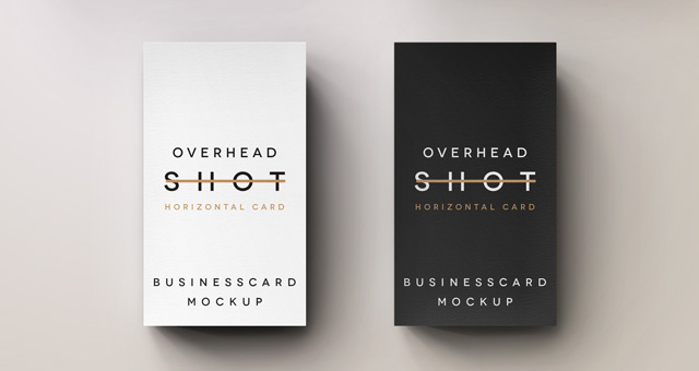 14 Vertical Business Card Mockup Psd Free Images