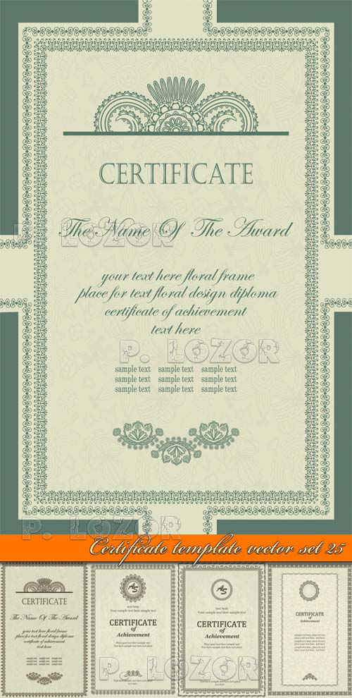 Certificate Template Download