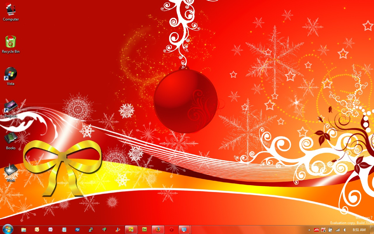 Christmas Desktop Themes Windows 7