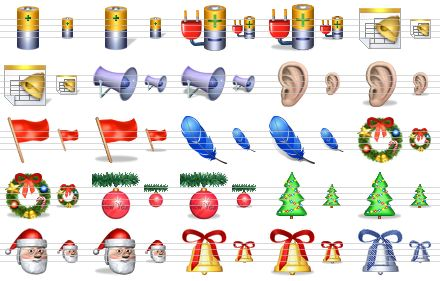 Christmas Icons for Windows 7