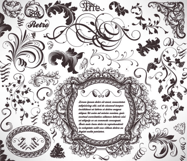 9 Free Vector Lace Trim Images