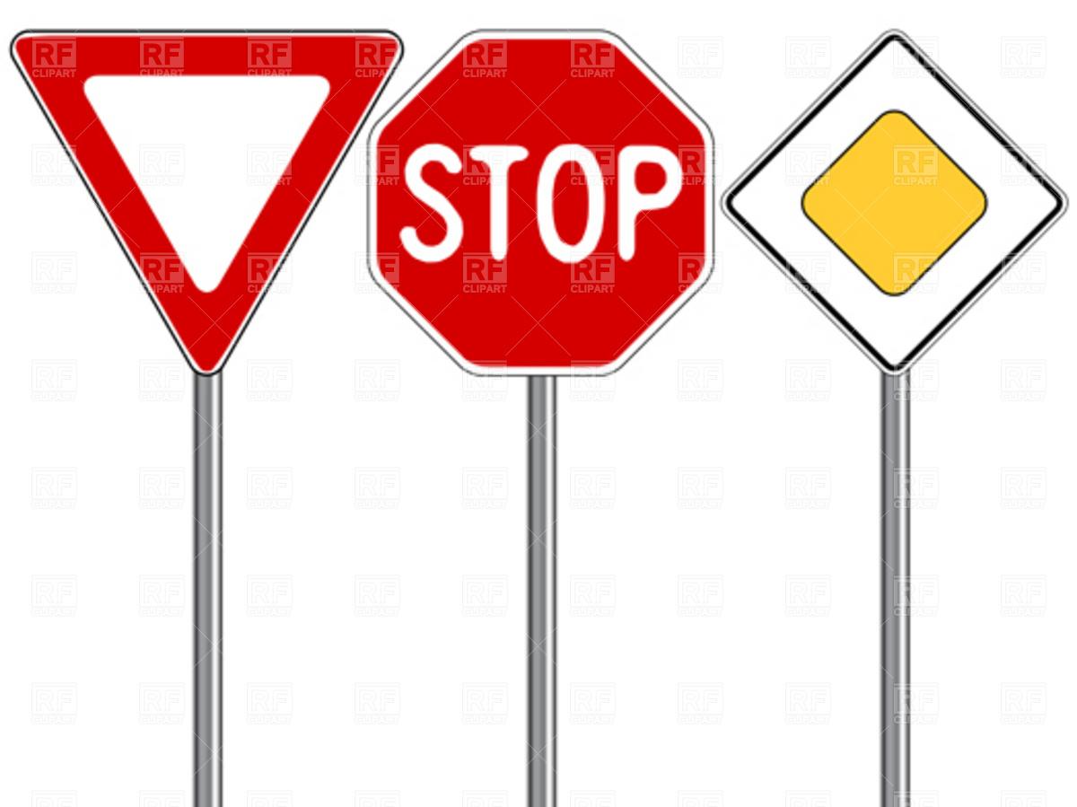Clip Art Traffic Signs