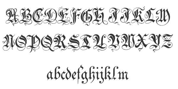 Cool Cursive Fonts