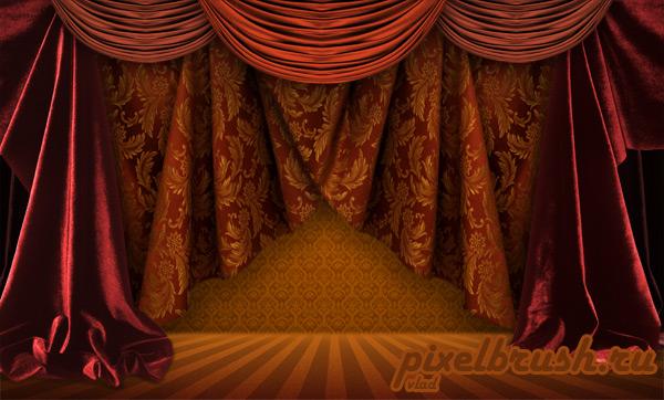 Curtain PSD File
