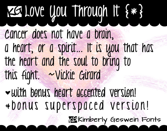 Cute Girly Handwriting Fonts