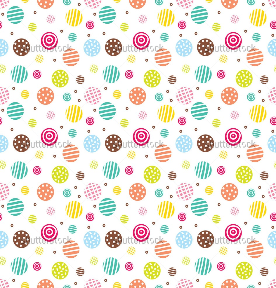 cute polka dot pattern backgrounds