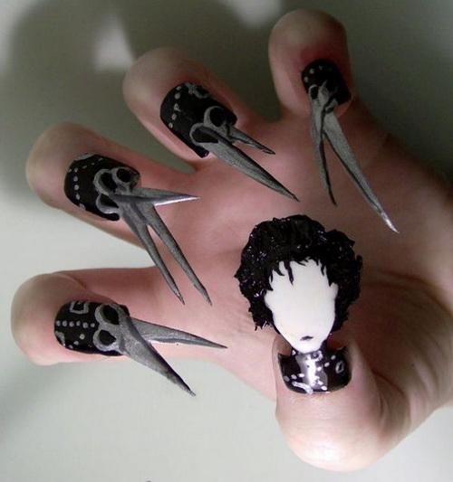 Edward Scissorhands Nails