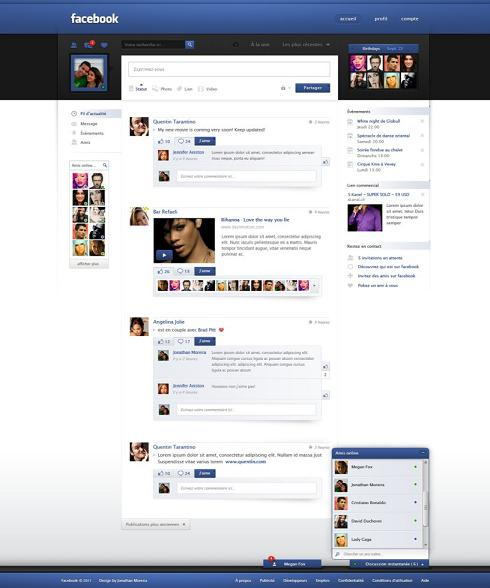 7 PSD Facebook Wallpaper Images