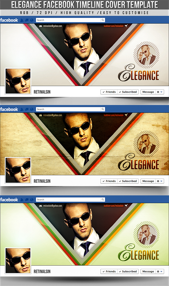 11 Artist Facebook Cover PSD Images