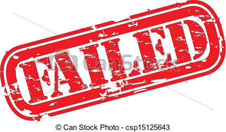 Failed Rubber Stamps Clip Art