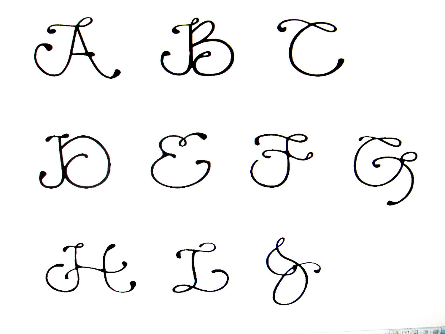 Fancy Number Fonts Images  Free Fancy Number Fonts Fancy Letters