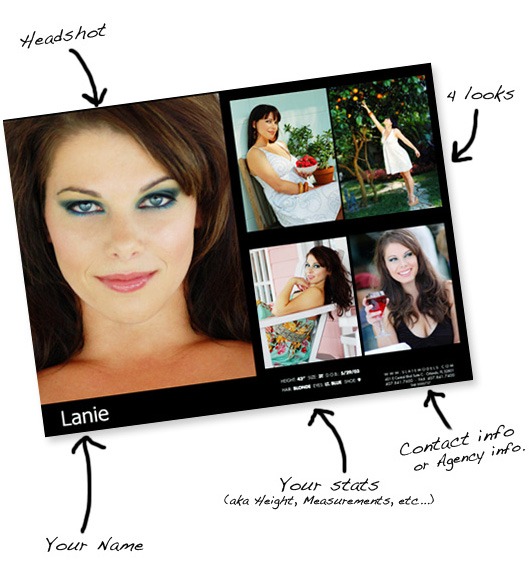 16 for models comp cards psd images model comp card for Free model comp card template psd