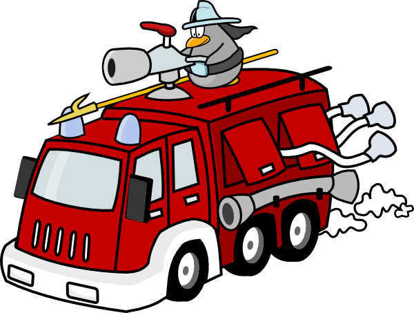 7 Firefighter And Fire Truck Clip Art Vector Images