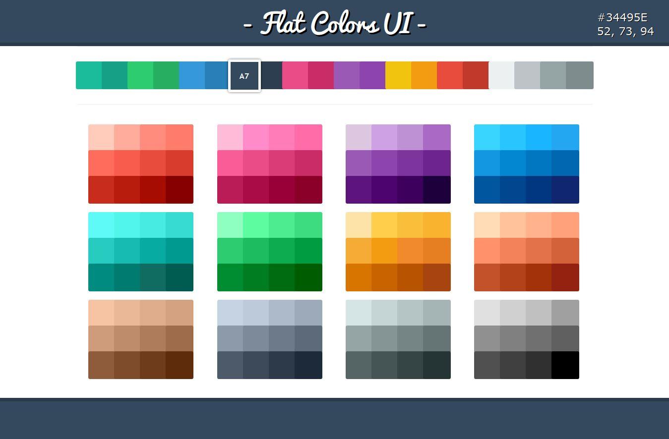 6 Flat UI Design Images