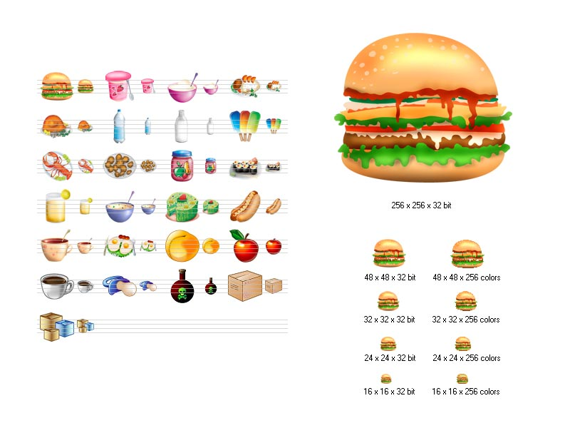 17 Food Icons For Windows 7 Images