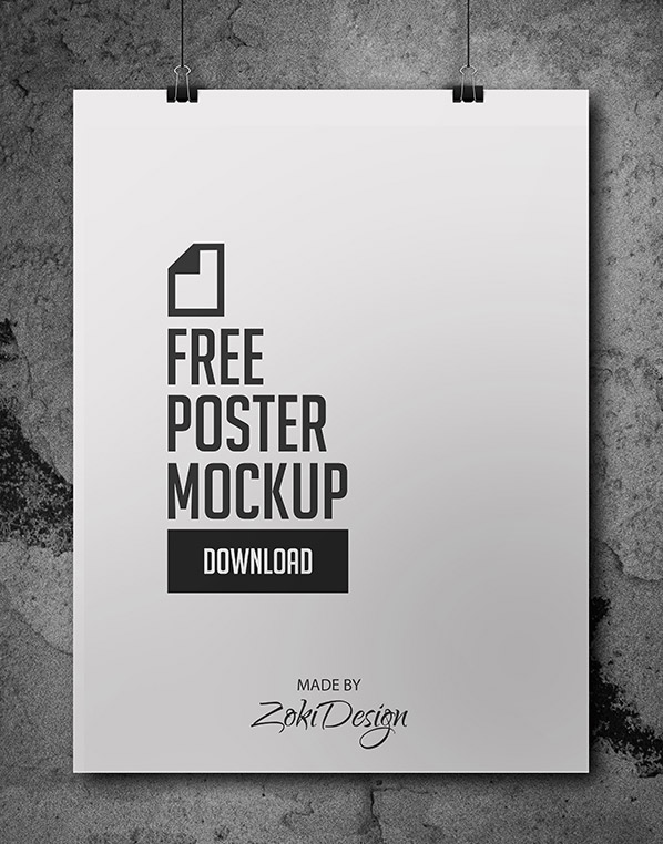 Download free psd movie poster templates