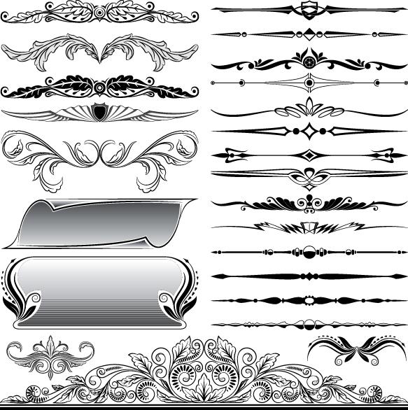 Free Vector Border Designs