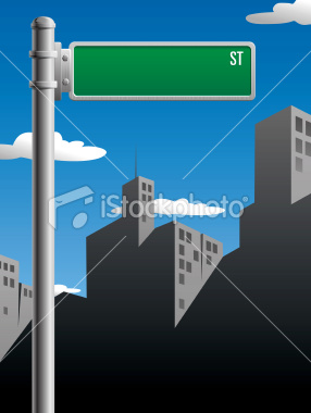 Free Vector Street Signs