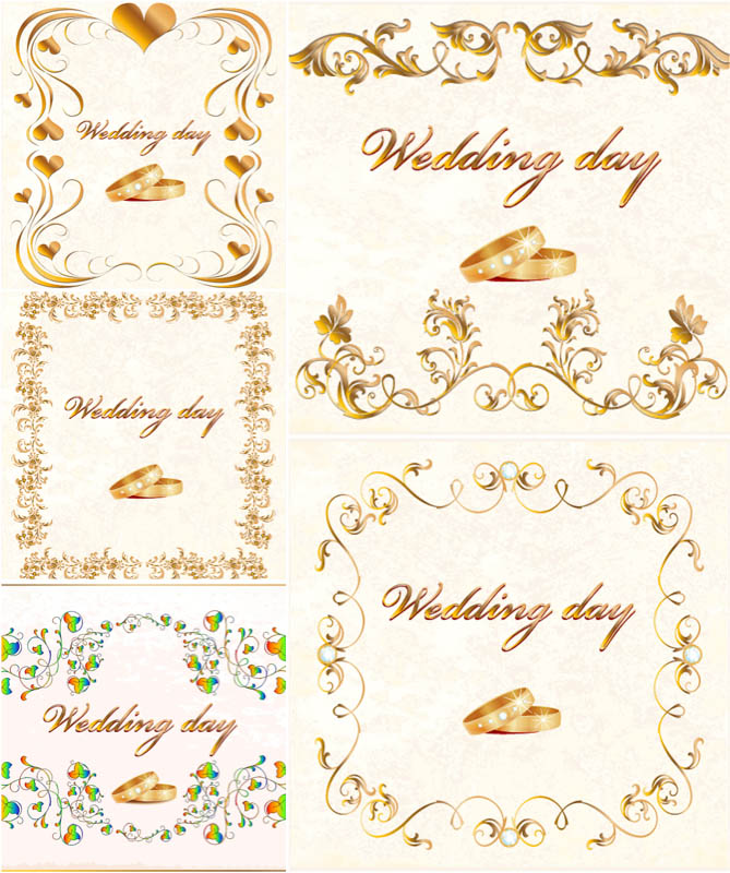 20 Wedding Vector Designs Images