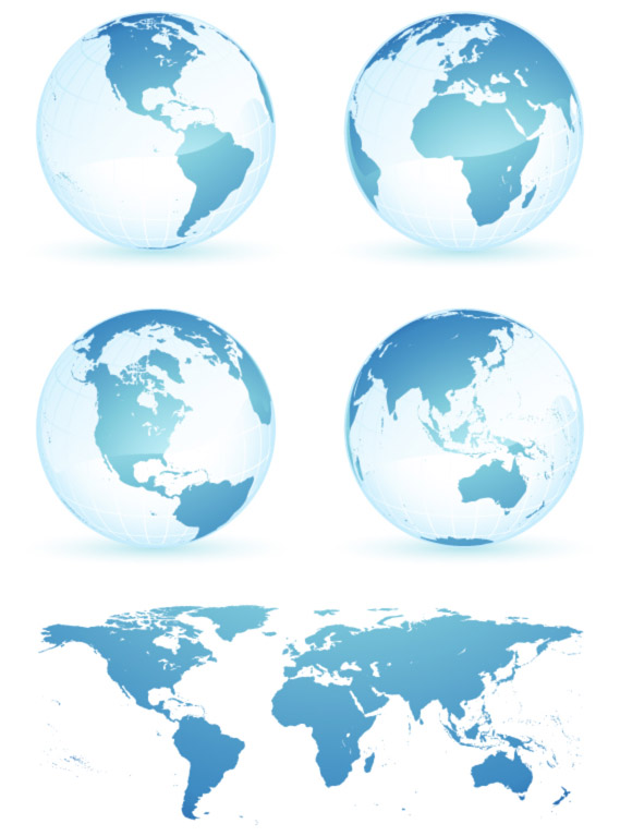 Free Vector World Map