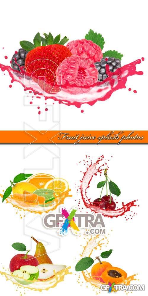 Fruit Juice Splash