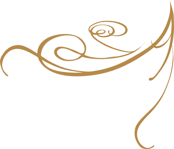12 Gold Swirl Vector Images