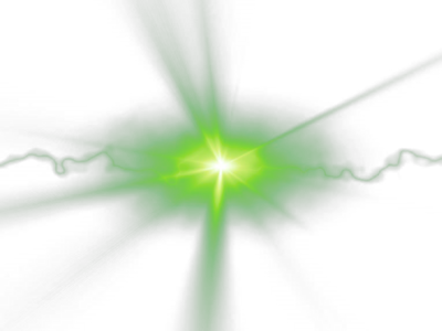 11 PSDs Green Light Flare Images