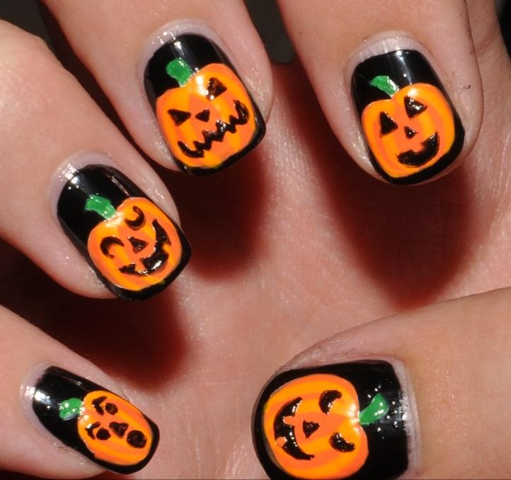 11 Halloween Nail Polish Designs Images