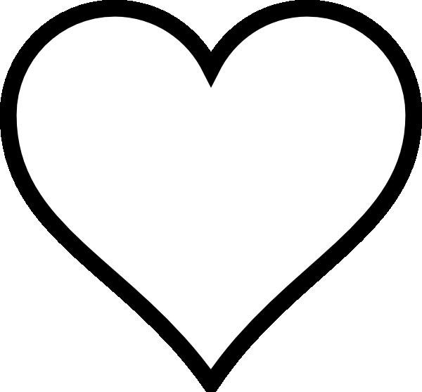 Heart Outline Clip Art