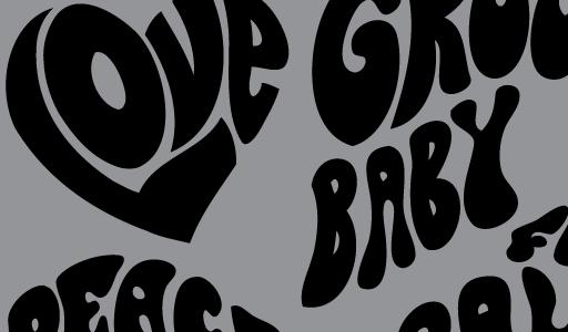 11 Hippie Font Alphabet Images - Hippie Lettering Fonts