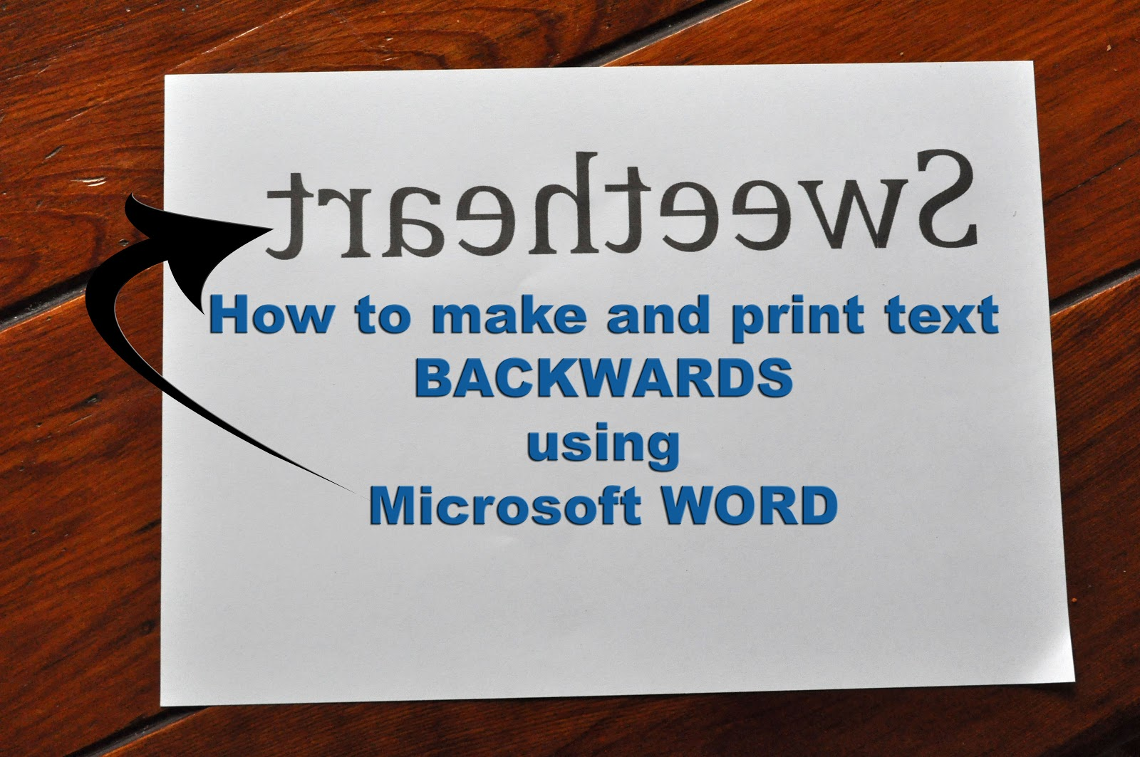 19 Backwards Font In Word Images
