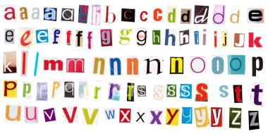 8 Cut Out Letters Font Images