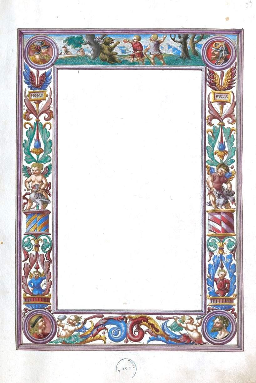 Medieval Page Border Designs