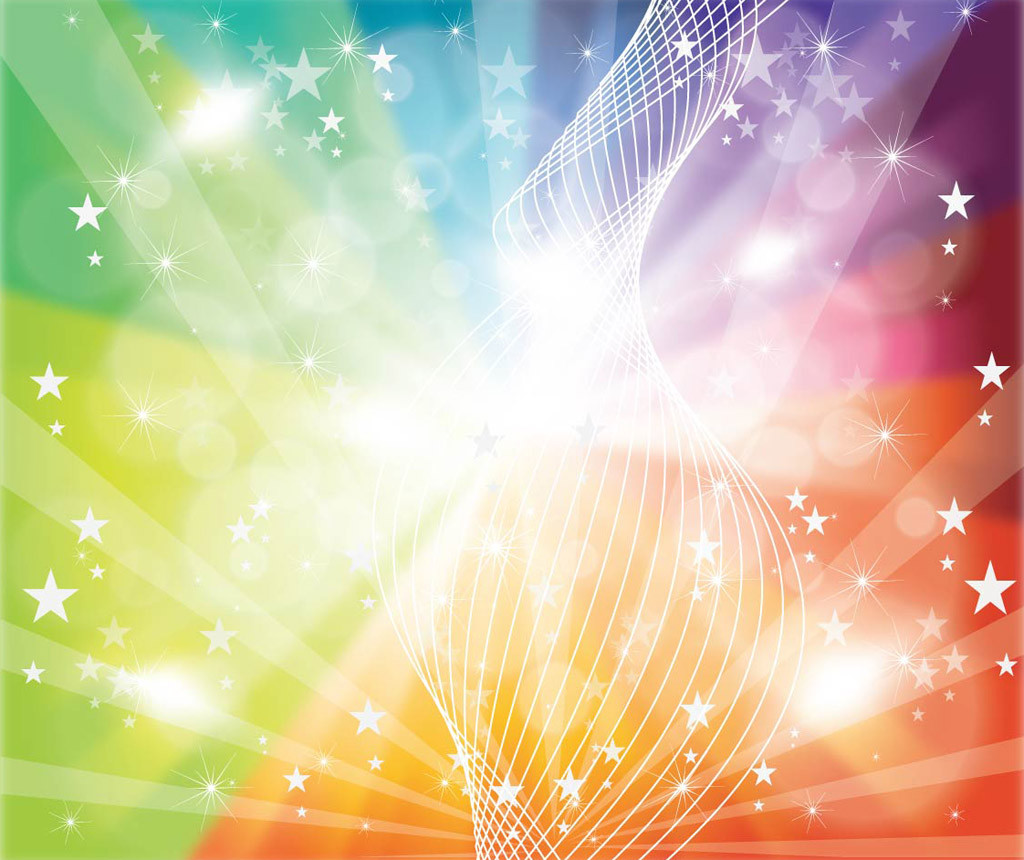 18 Multicolor Free Vector Backgrounds Images
