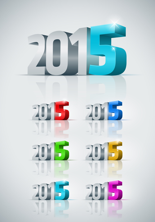 New Year's 2015 Clip Art Free