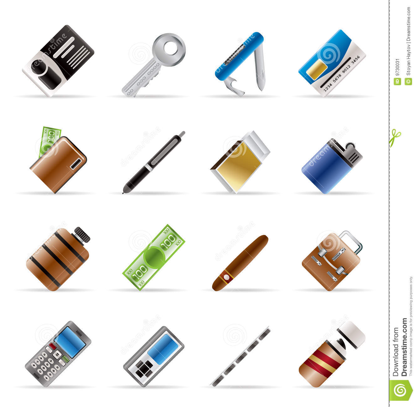 Object Icons Vector