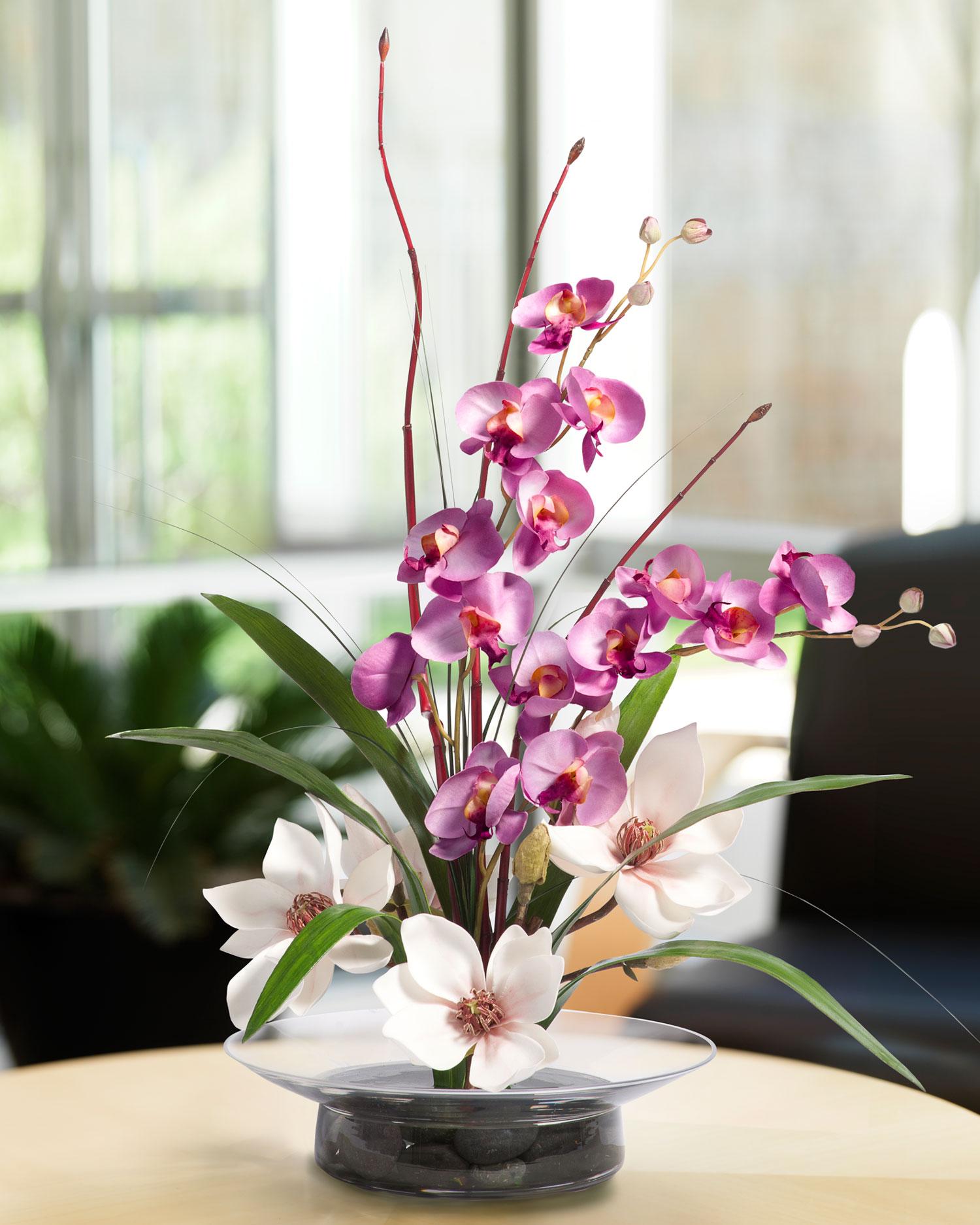 Orchid Flower Arrangements Centerpieces