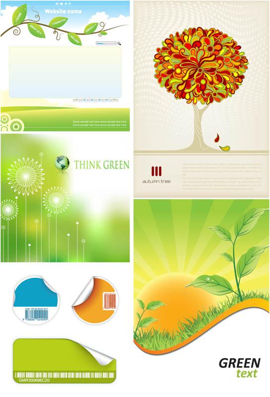 Organic Vector Graphics