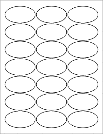 picture relating to Printable Oval Template named 8 Oval Label Template Ideas Shots - Oval Label Templates