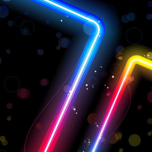19 Vector Photoshop Neon Images