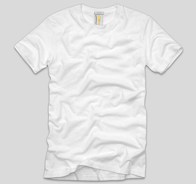 Photoshop T-Shirt Template Back