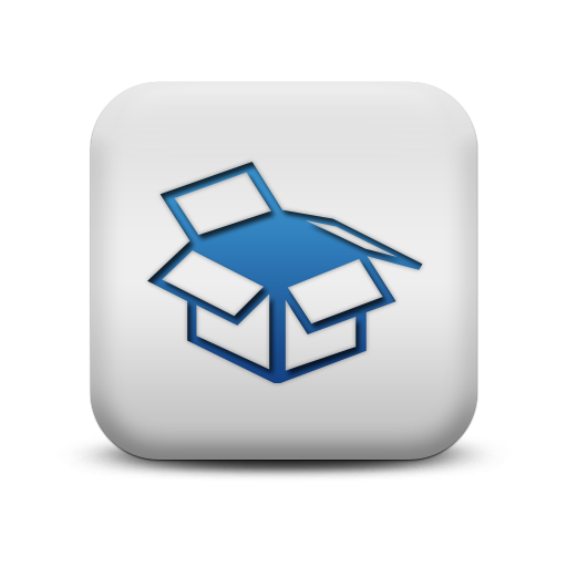 Policy Icon Blue Square